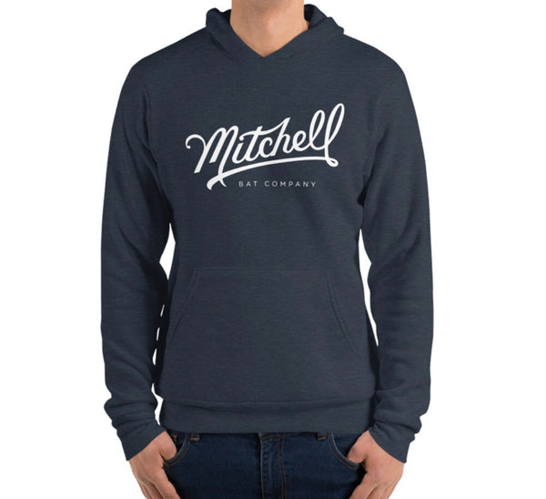 Hoodie - Navy Blue - Mitchell Bat Co