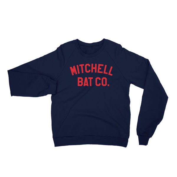 Mitchell Bat Co block logo sweatshirt