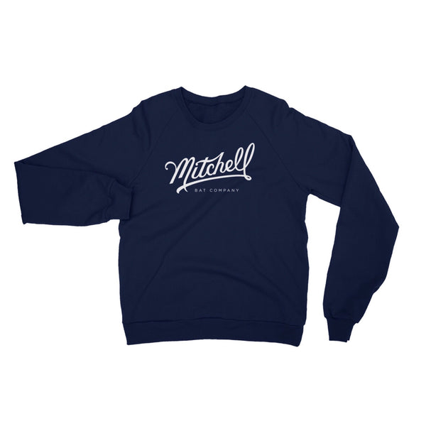 Mitchell Bat Co script logo sweatshirt