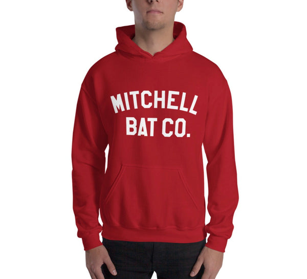 Hoodie - Red - Mitchell Bat Co
