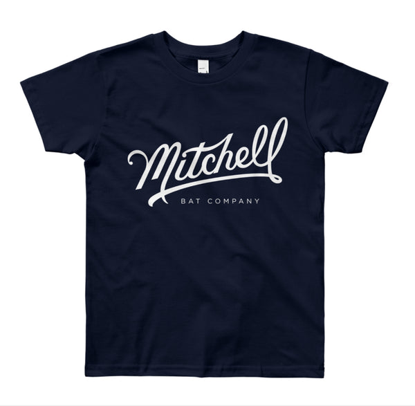 KIDS Mitchell Bat Co. short sleeve tee (navy)