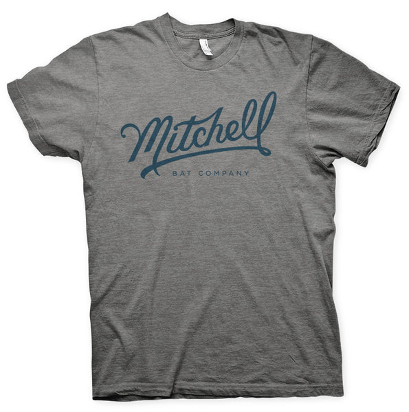 Mitchell Bat Co. short sleeve tee (gray)