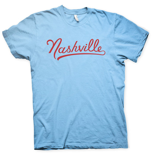 Nashville short sleeve tee (powder blue)
