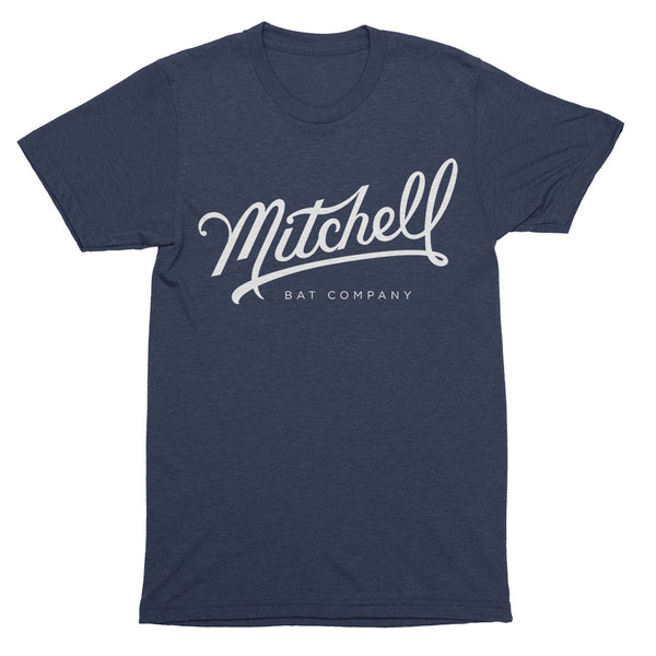 Mitchell Bat Co. short sleeve tee (navy)