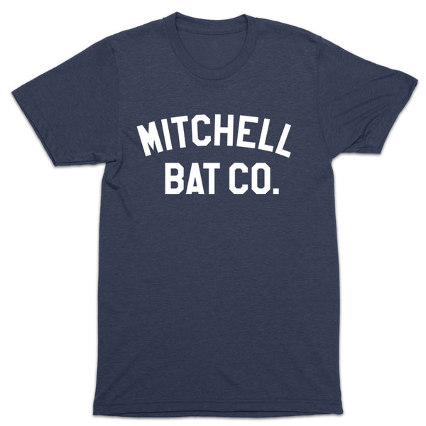 Mitchell Bat Co. short sleeve block tee (navy)