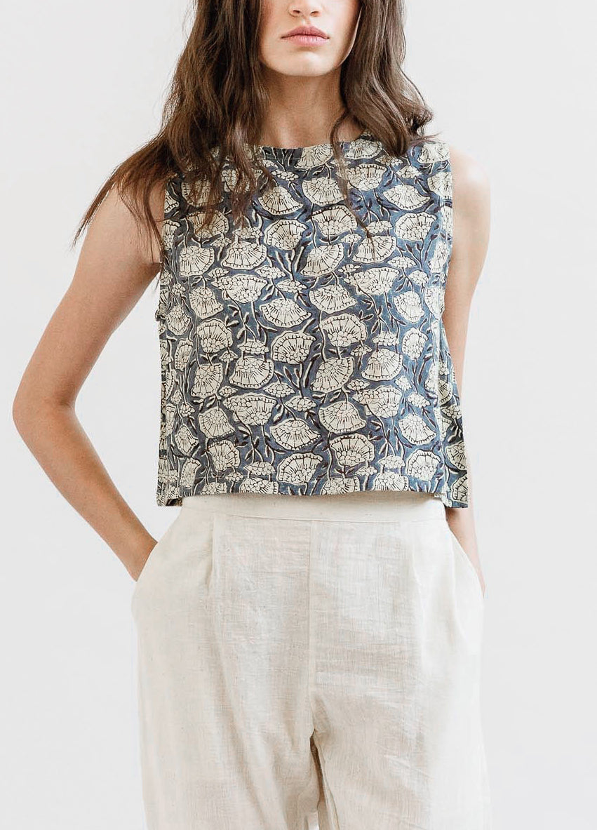 Maelu Crop top - Modal