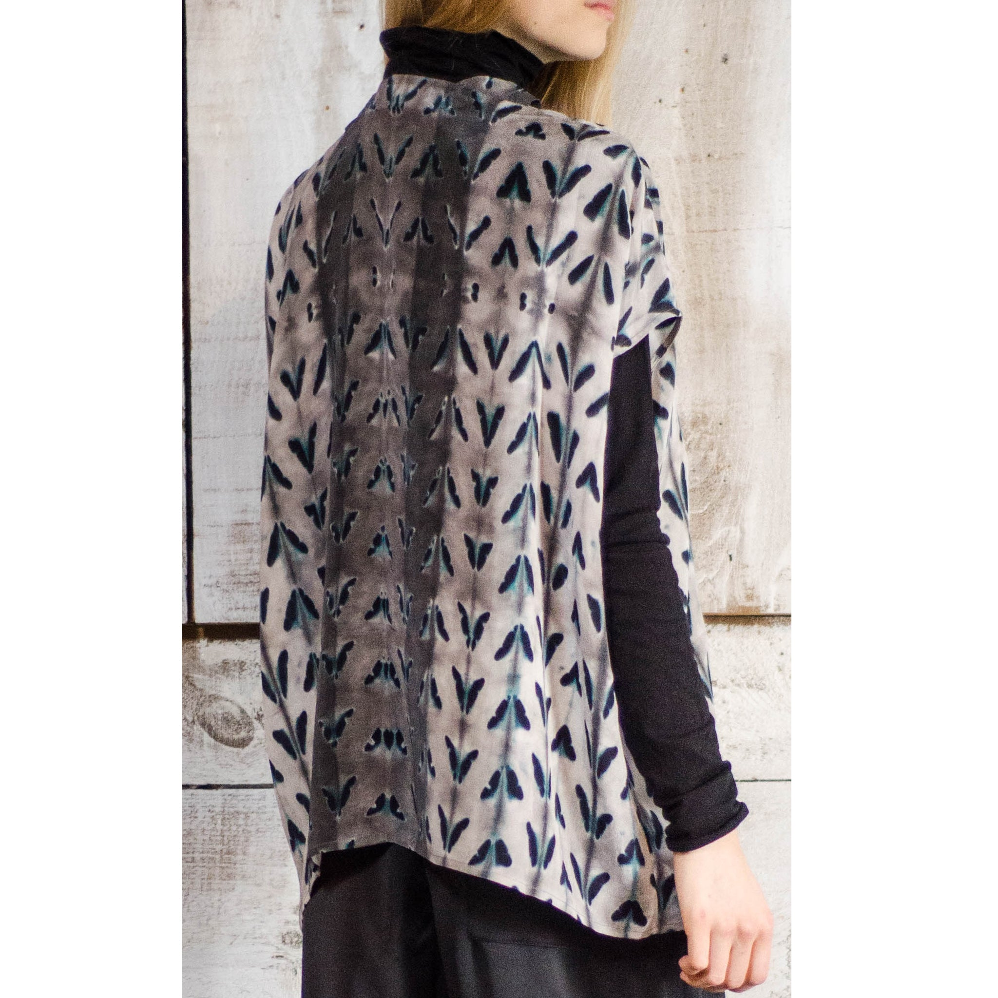 Laura Siegel Collection - Oversize Silk top