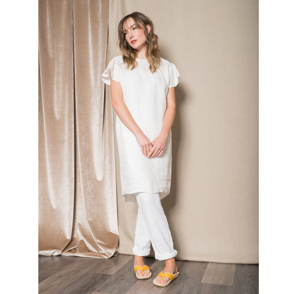 Humanoid Susie salt linen dress