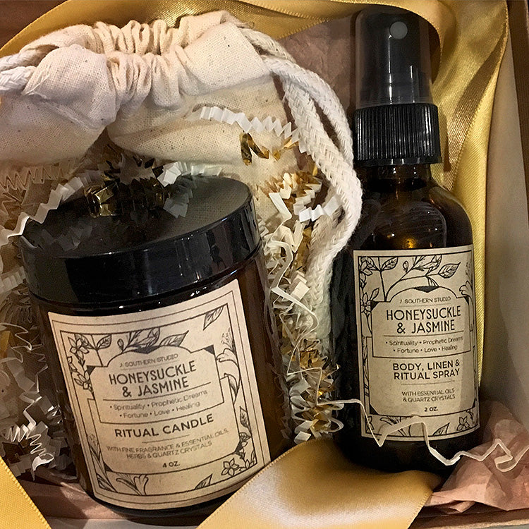 J. Southern Studio -Body Linen & Ritual Mist - spray bottle