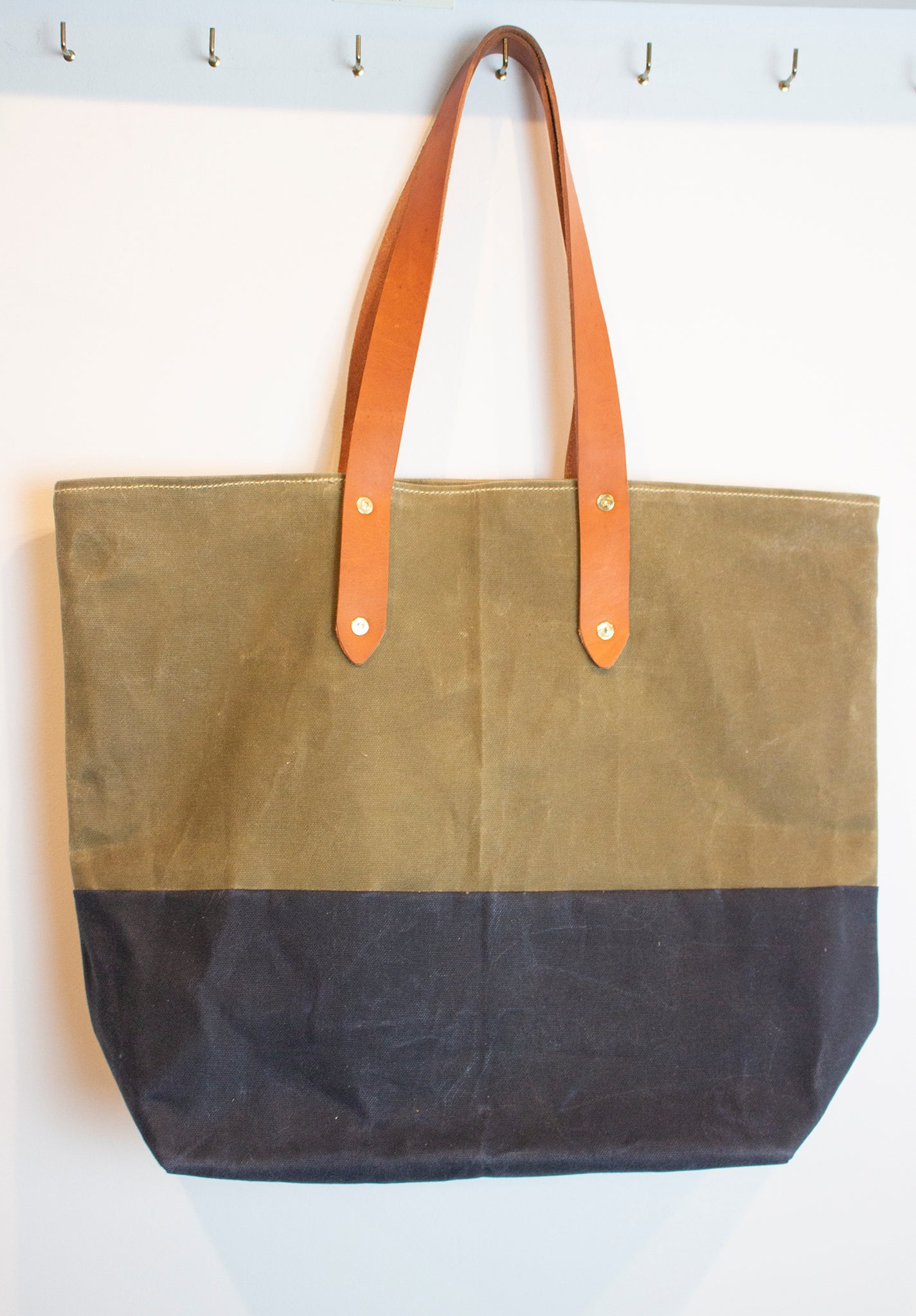 MADE IN NY Waxed cotton bags