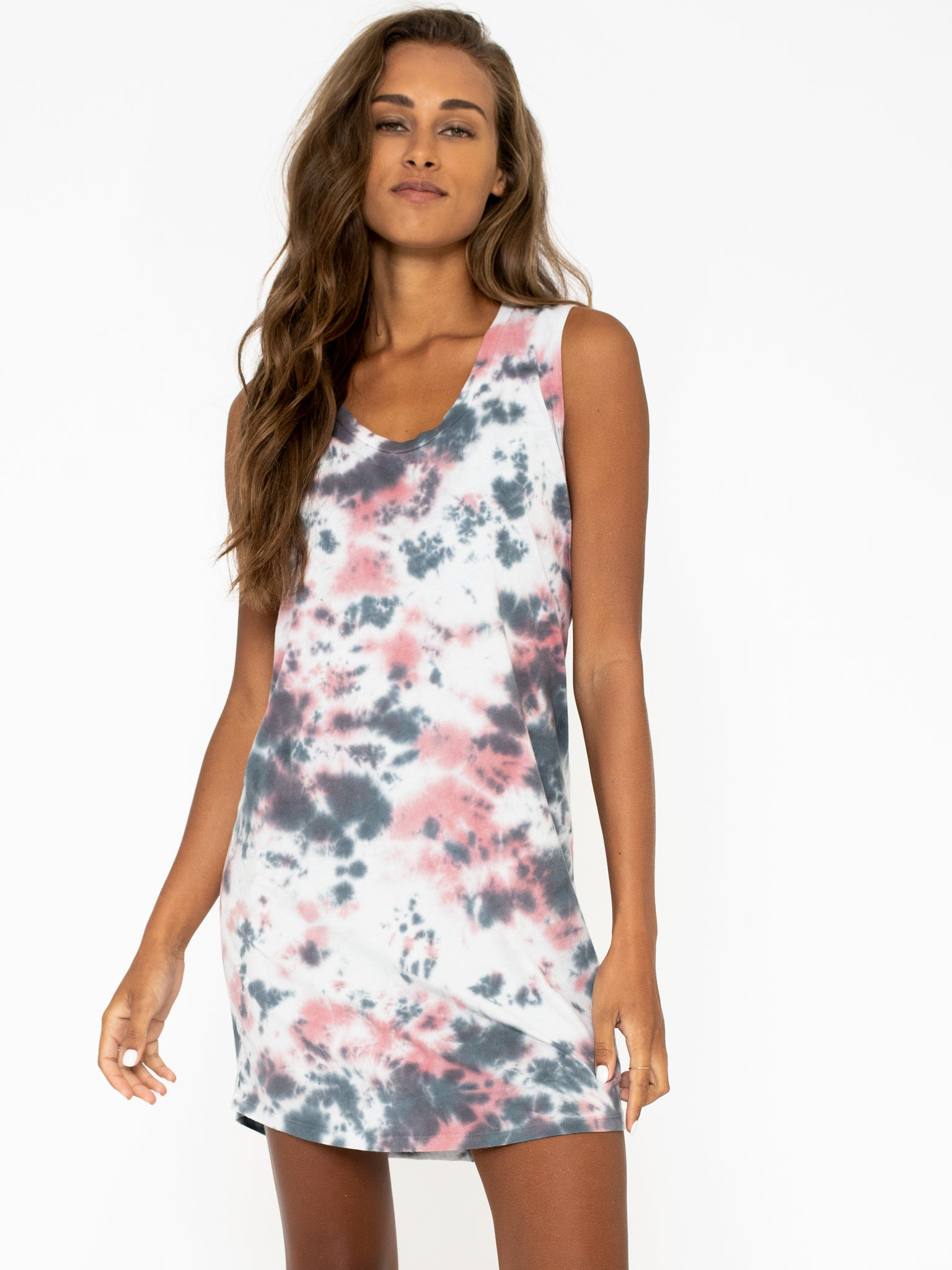 Sol Angeles Marble Tank Dress