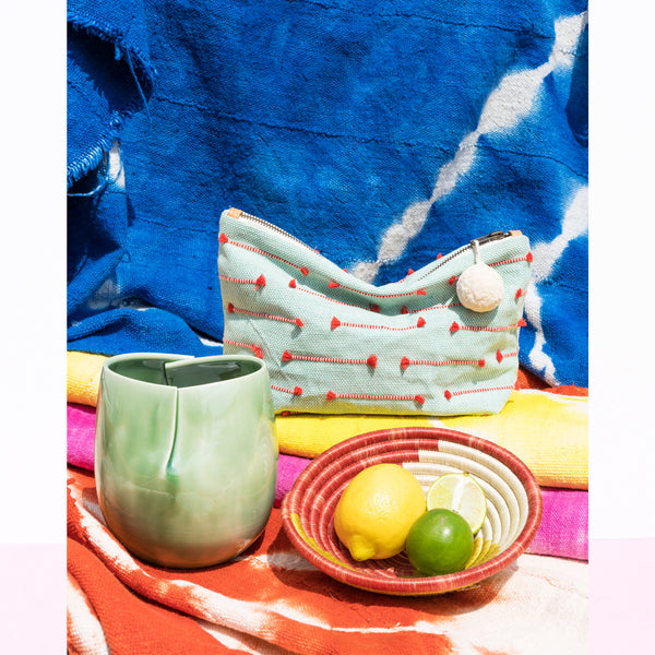 Vintage Blankets - Bright Dyed Cotton