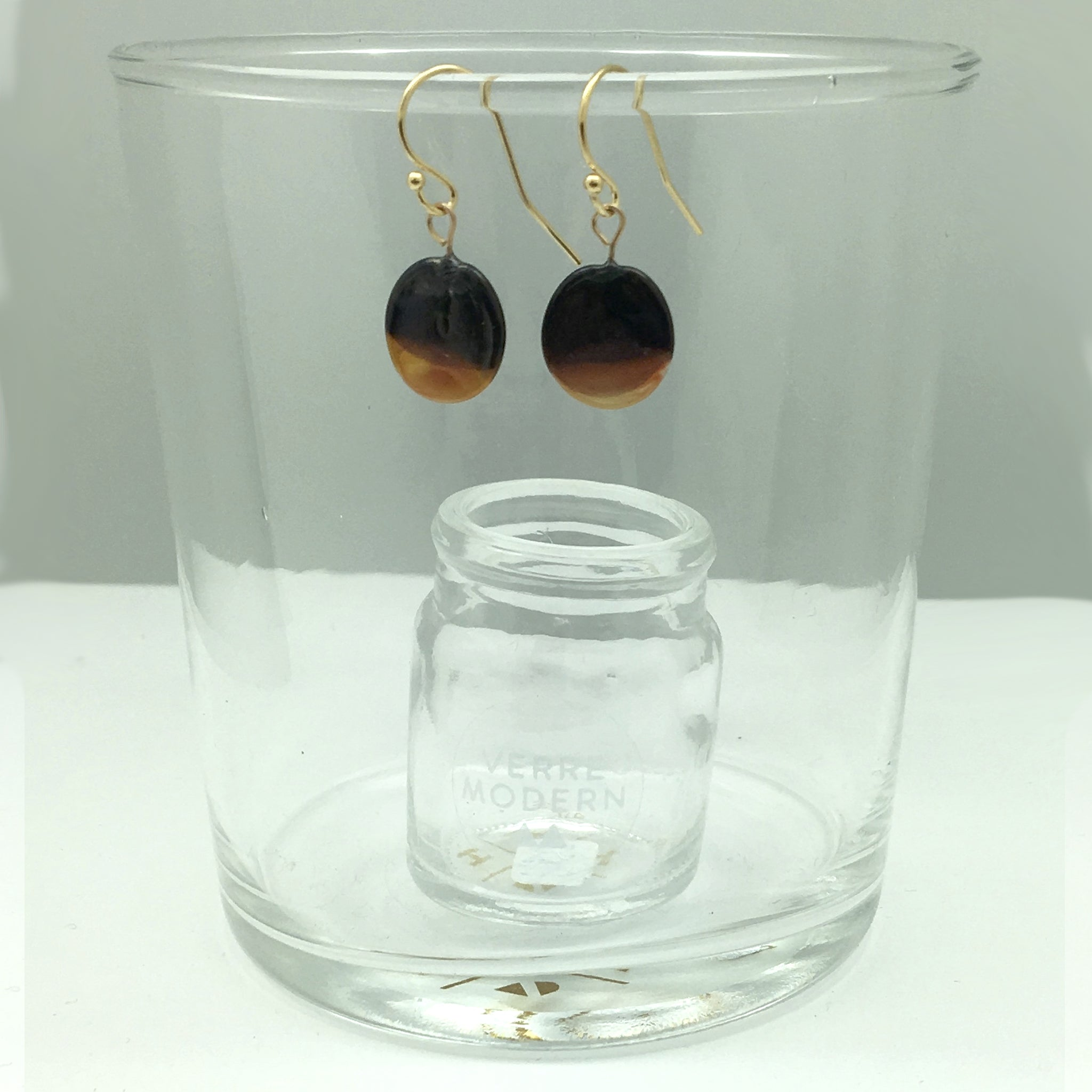 Verre Modern Marble glass jewelry