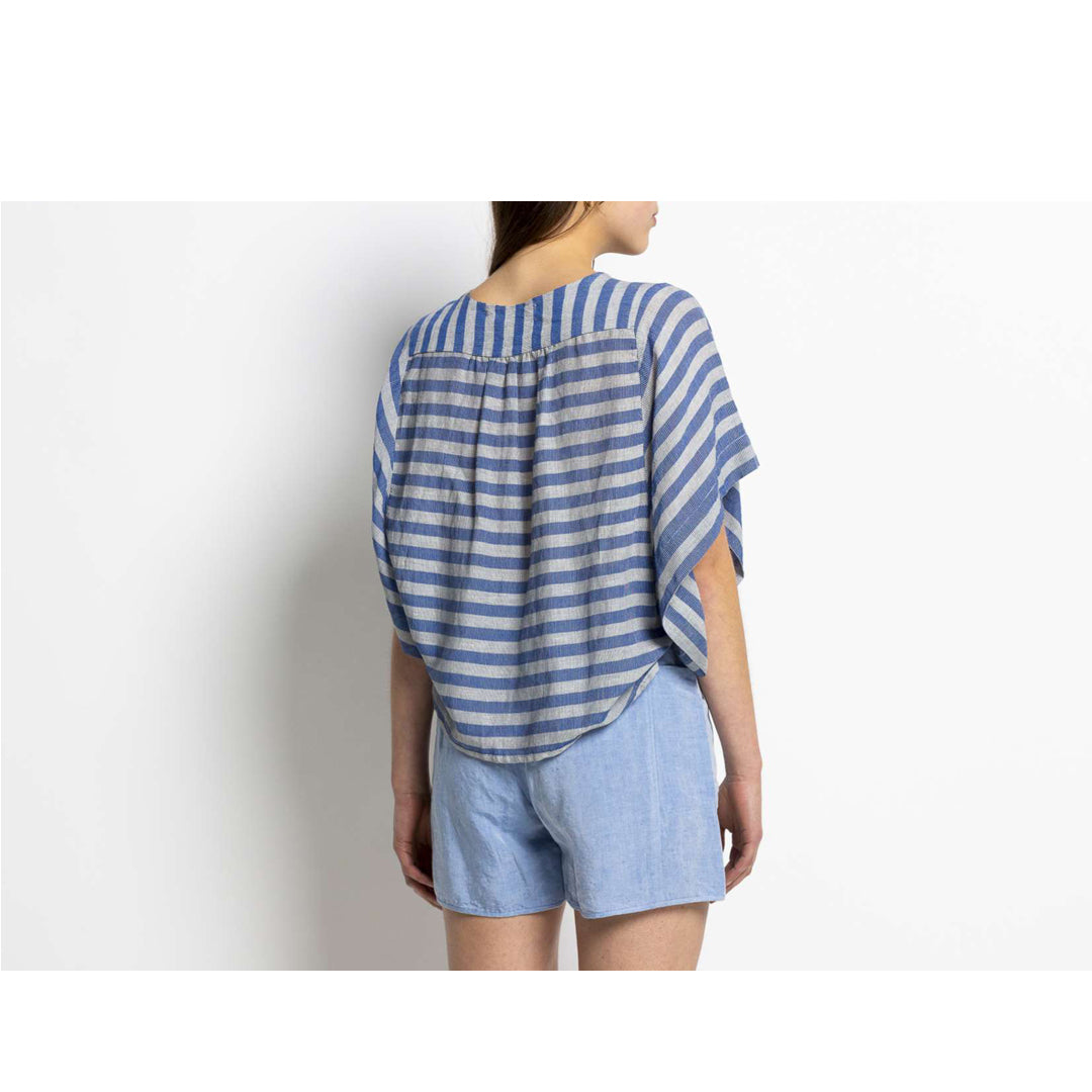 Humanoid Wayo Clouds Stripe Top