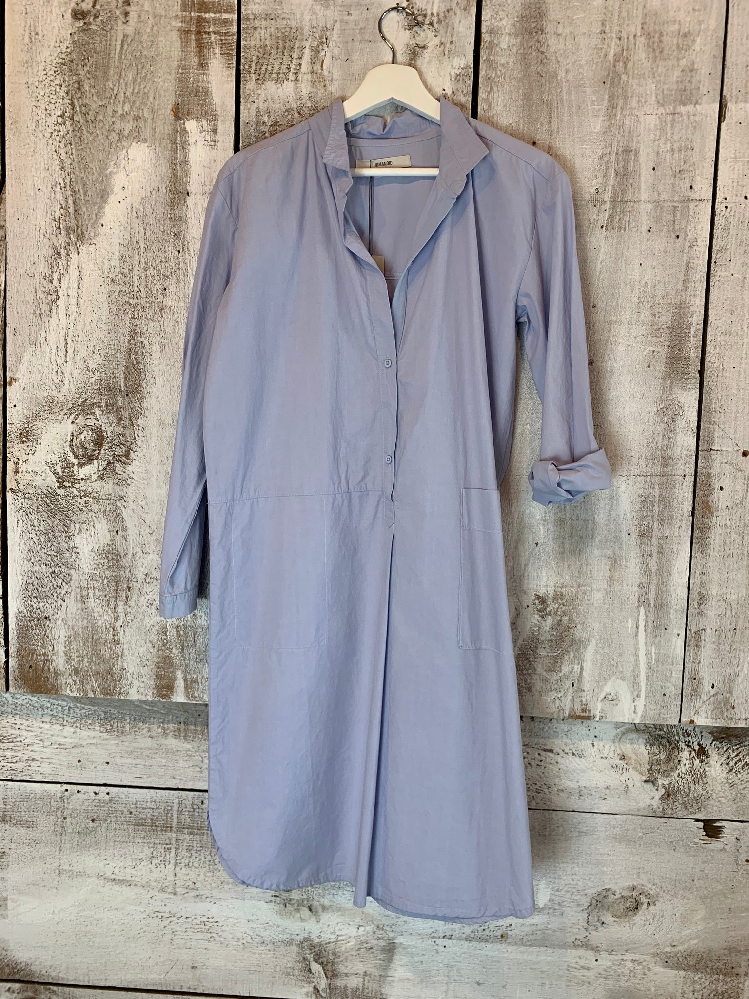 Humanoid Frenzo Cotton shirtdress