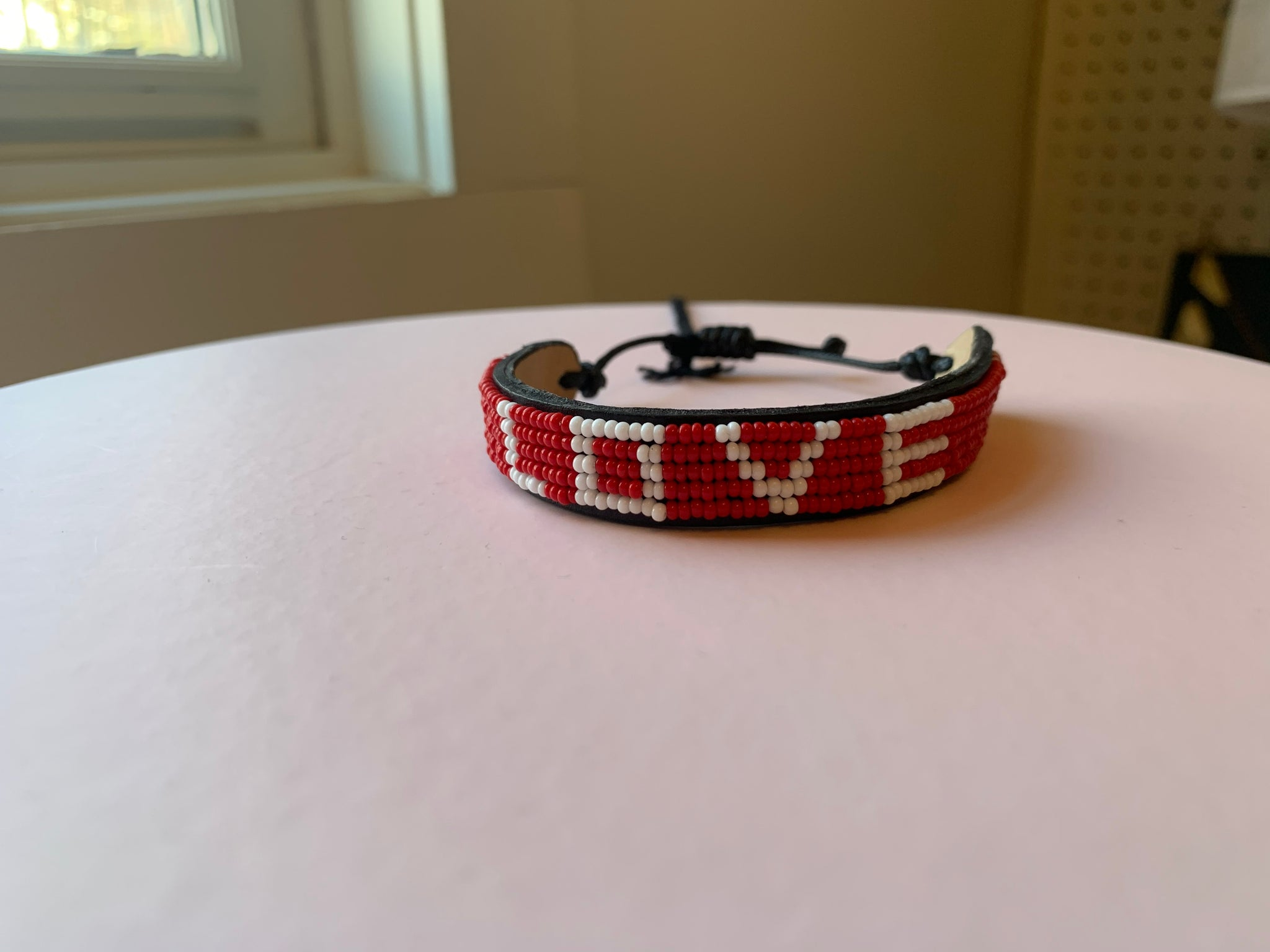 LOVE is Project - Red LOVE original bead bracelet