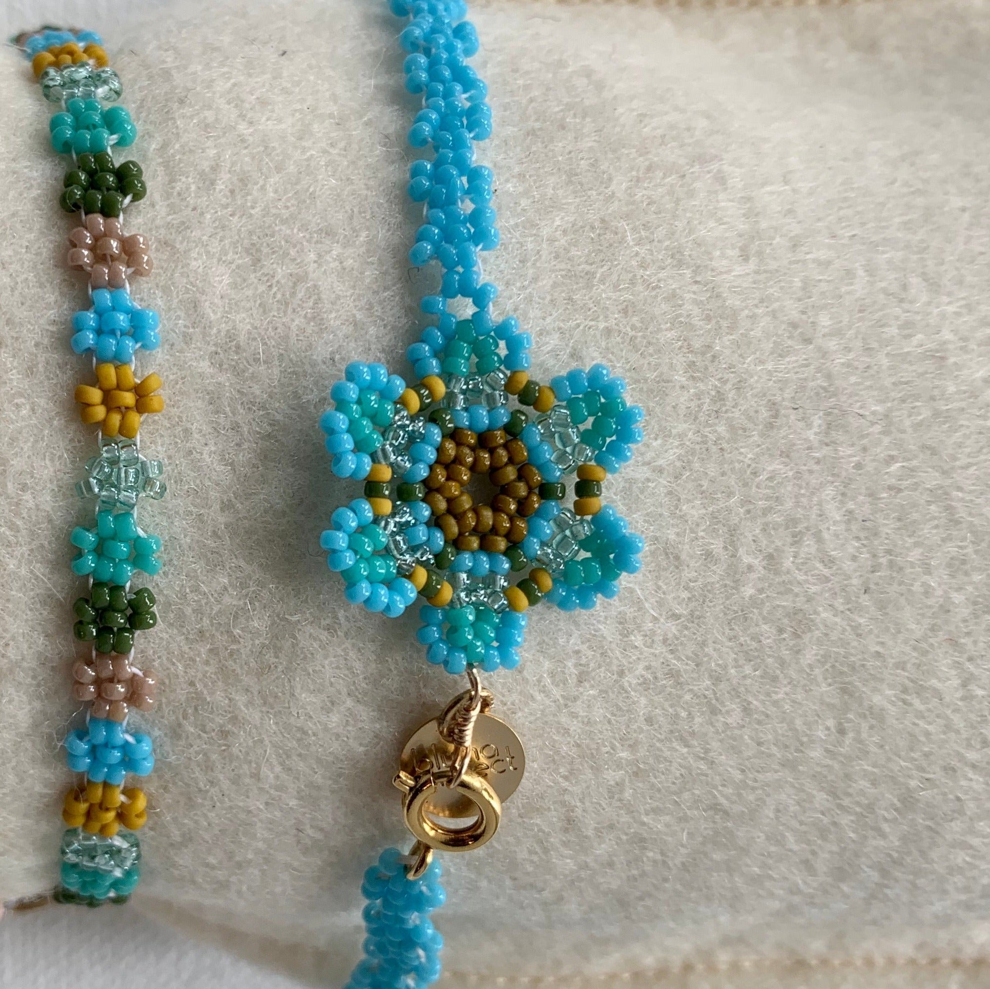 Bluma project bracelet or anklet