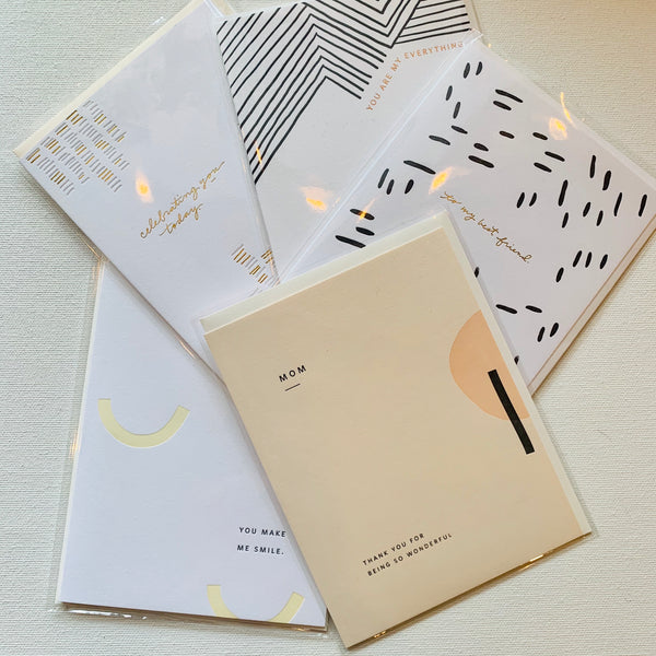 Ramona & Ruth Letterpress Special Cards