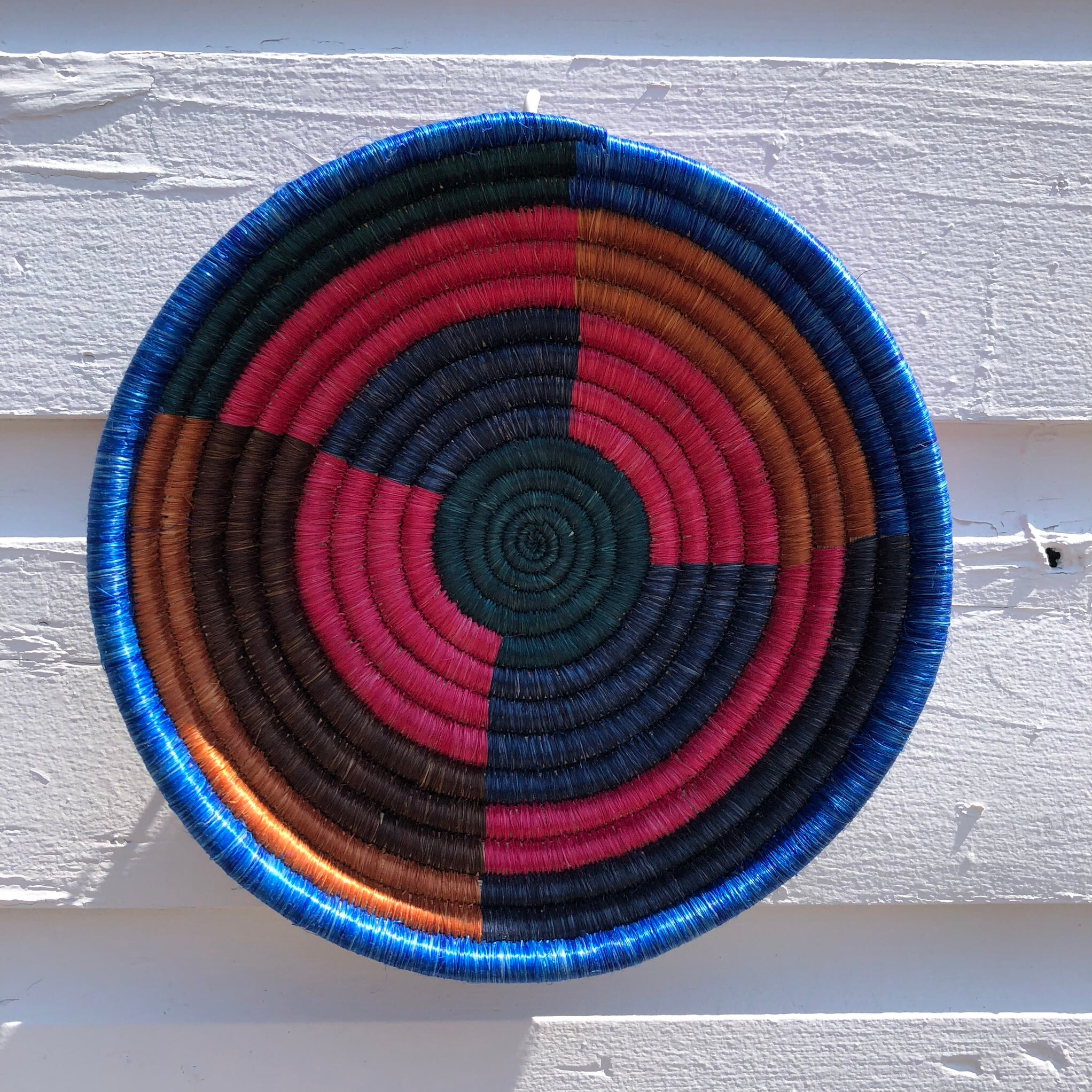 "Hand woven 8"" bowls"
