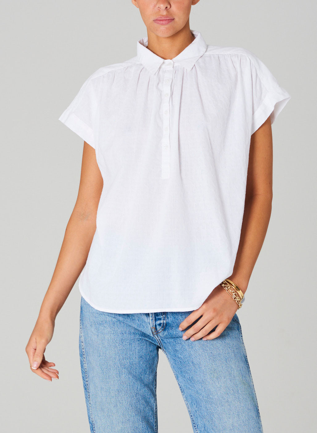 MABE White Remi Top