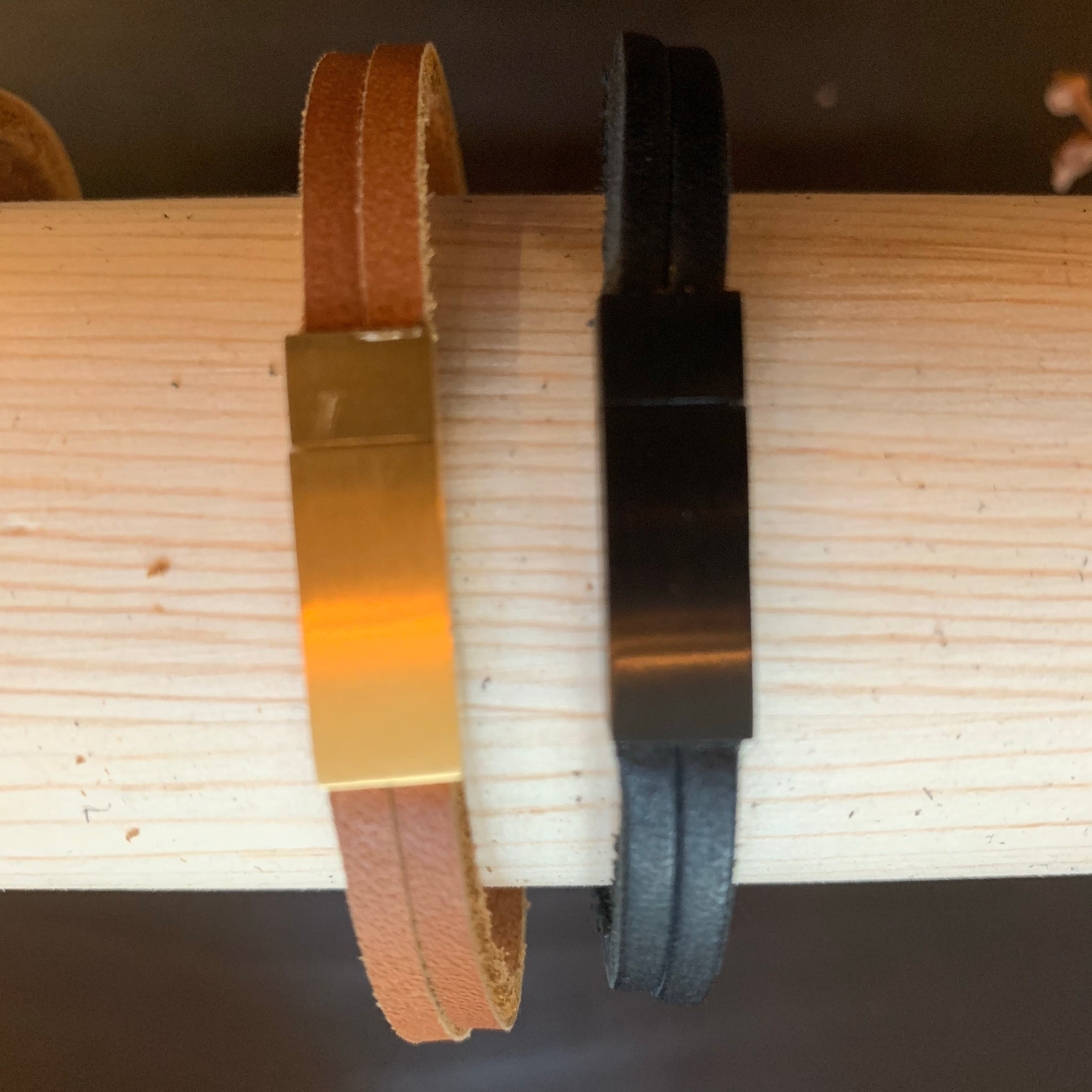 Son of a Sailor Leather Bracelet