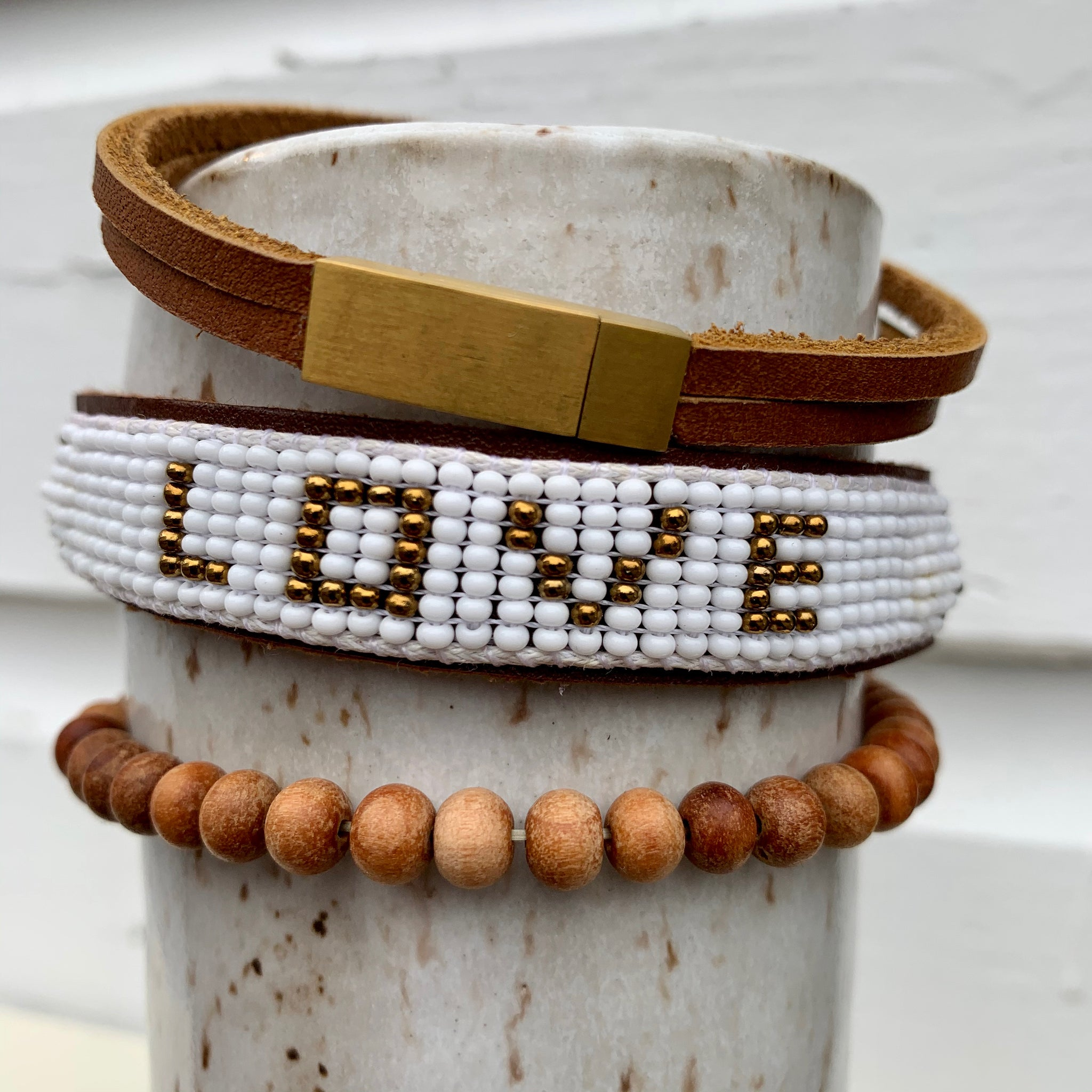 LOVE is Project - bracelets