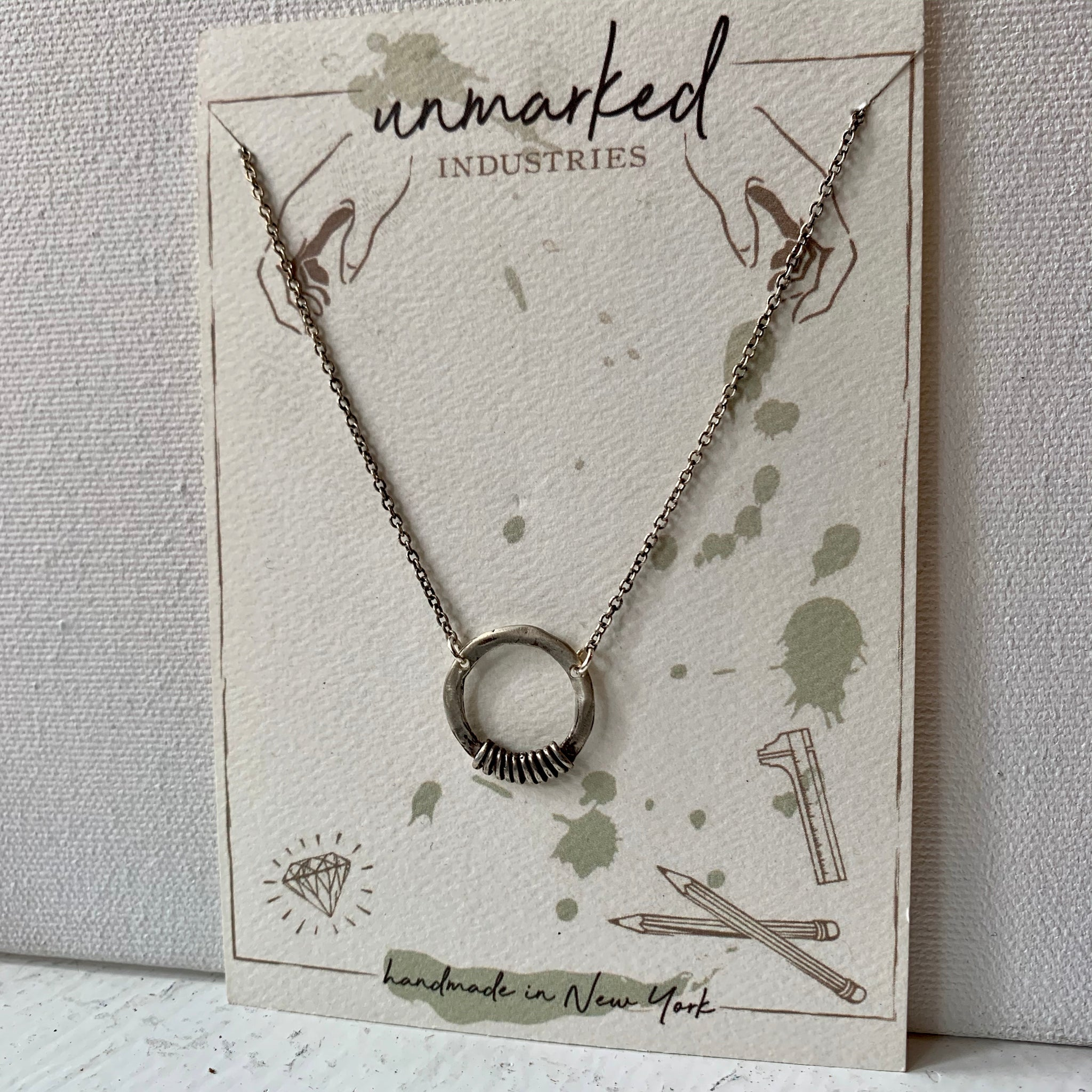 Unmarked Industries necklace