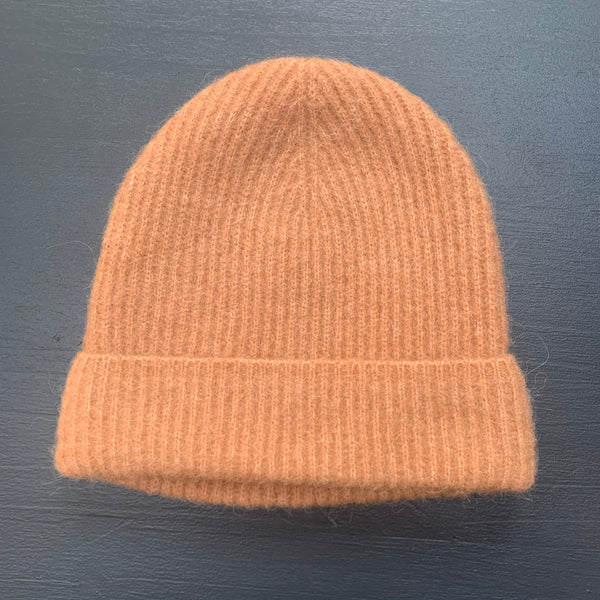 Humanoid BASKE knitted hat Camel