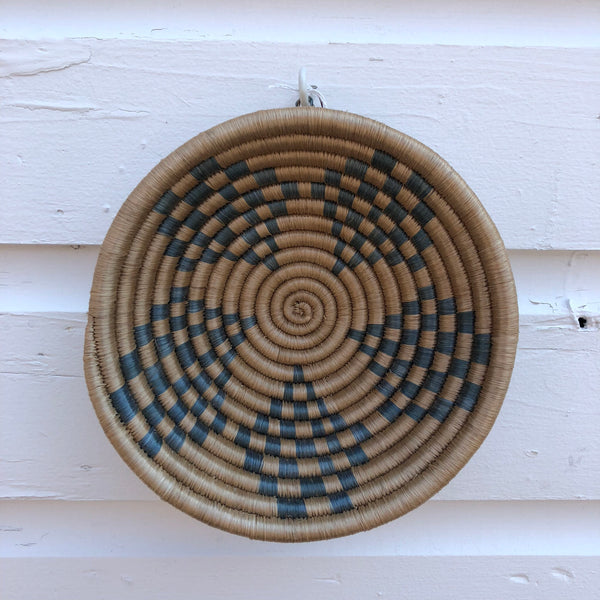 "Hand woven  7"" bowls"