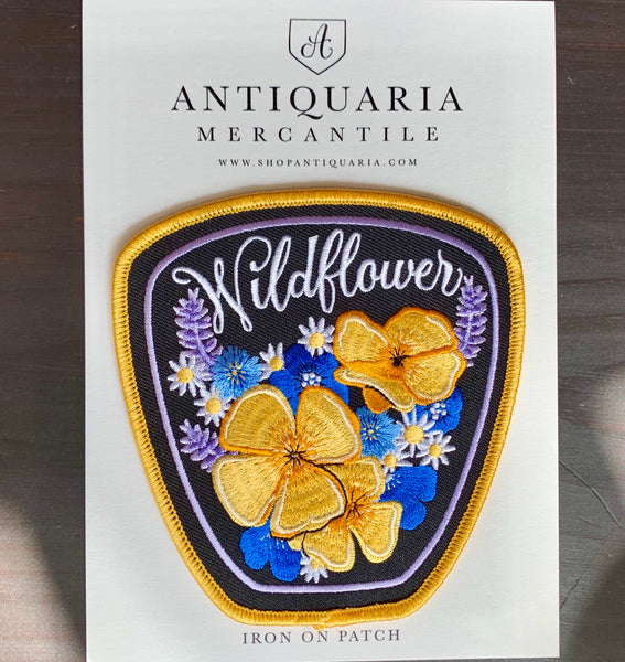 Antiquaria Embroidered Patches