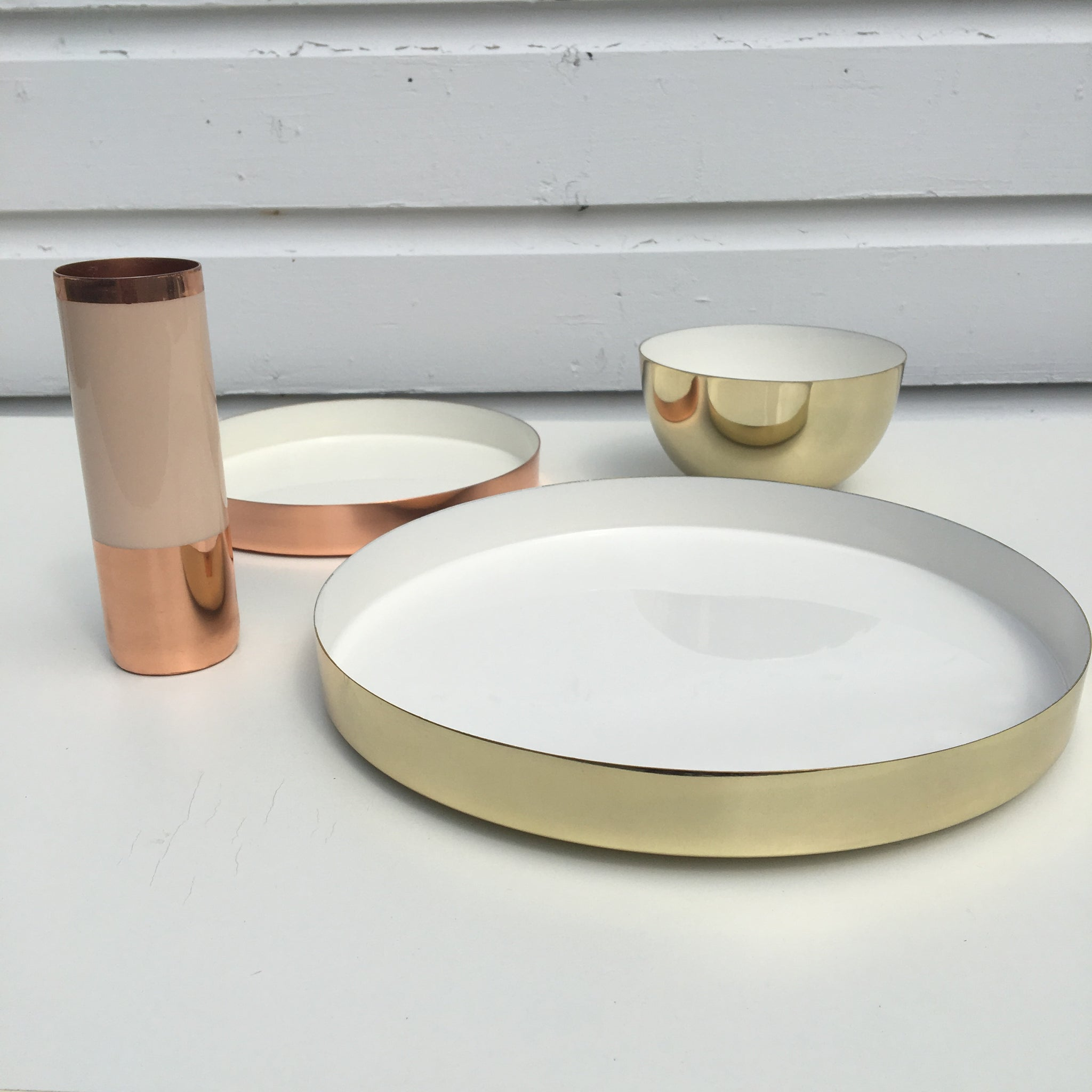 Hawkins Louise color plated vessels