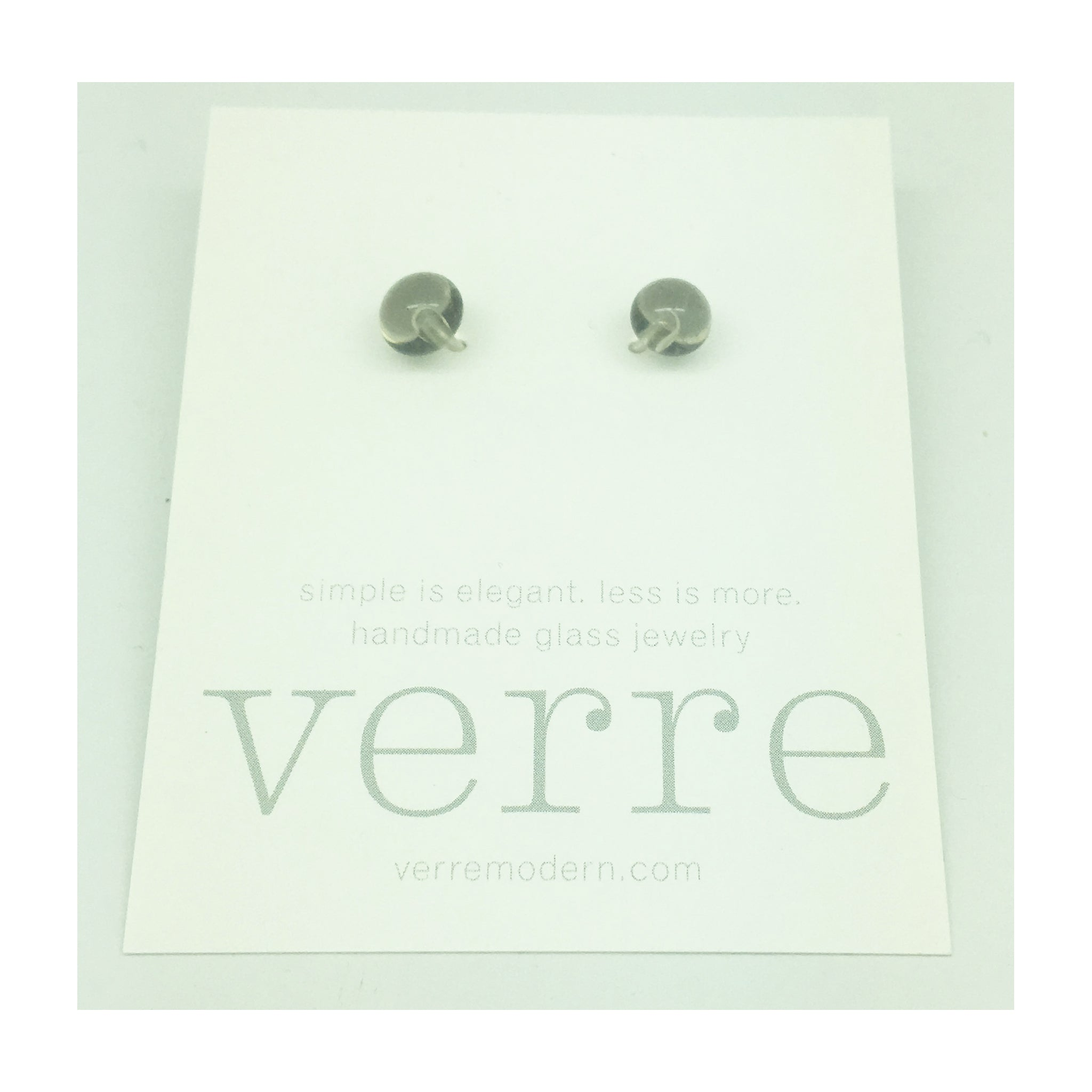 Verre Modern stud earrings