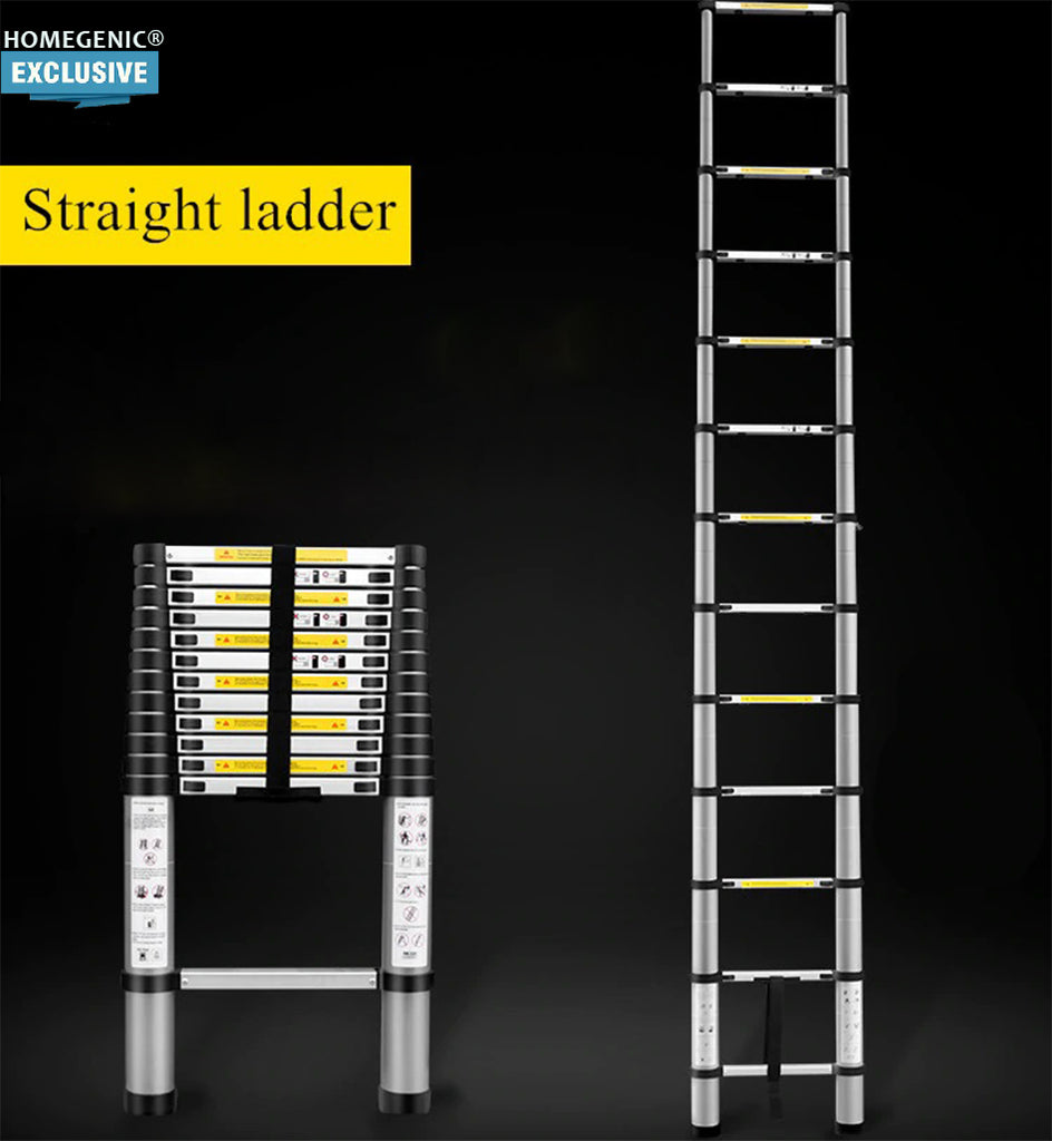 Homegenic Telescopic Folding Aluminium Ladder.
