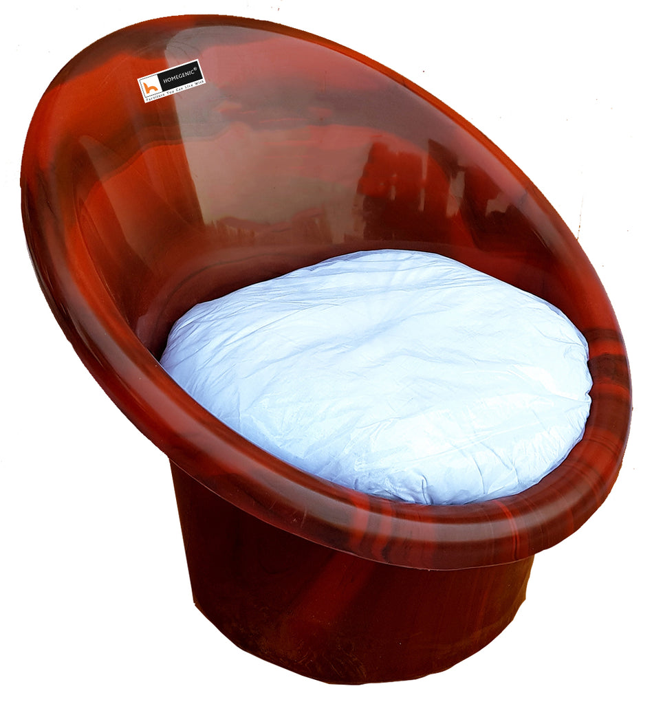 Homegenic Tub Chair with Cushion Set of 04 - HOMEGENIC
