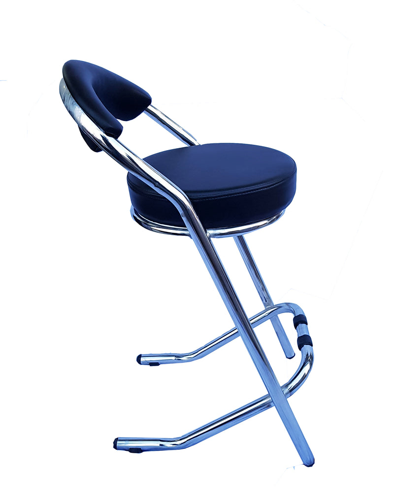 Homegenic Kross Bar Stool For Kitchen/Office/Bar (Seating Height 72 Cms)