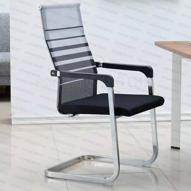 S Type Cantilever Chairs, Mesh Chairs for Office