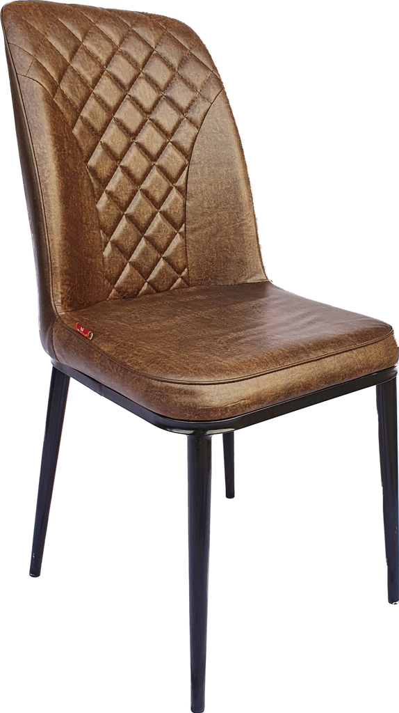 Acme Cucina Metal Bistro Dining Chair (Brown).