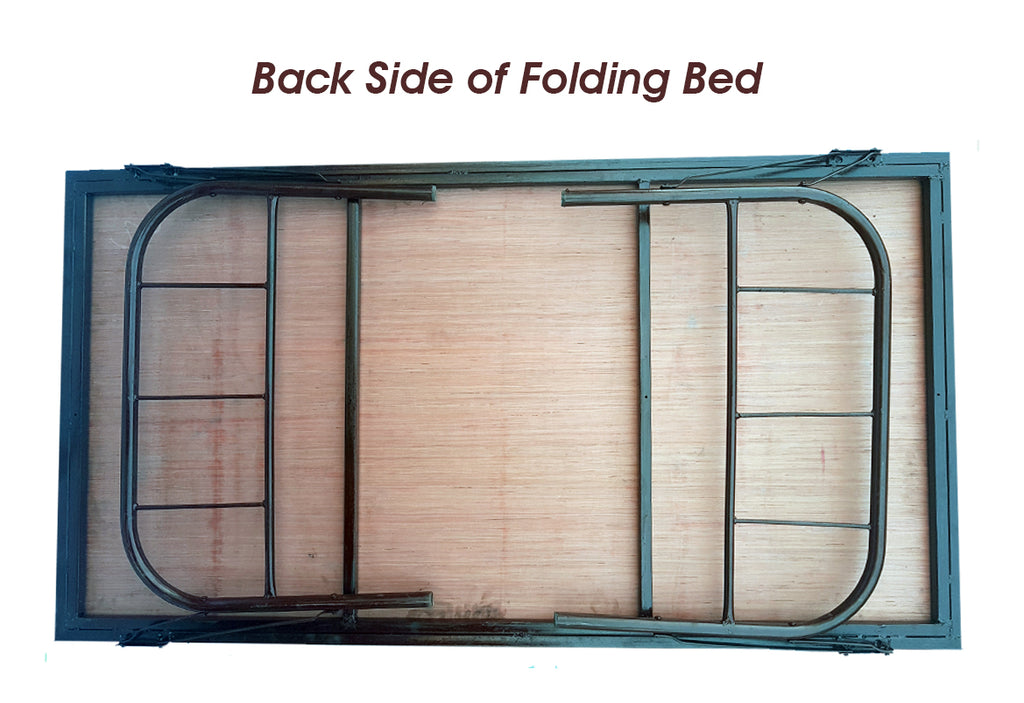 Homegenic Folding Bed Folding Bed for hostel Folding Palang Folding Cot Folding bed for PG hospital beds for patients