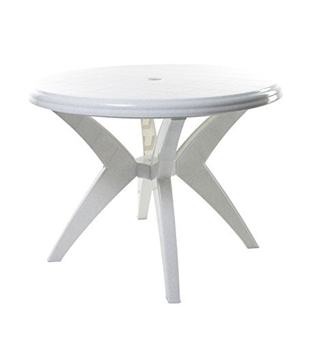 Cello Presto Four Seater Dining Table (White) - HOMEGENIC