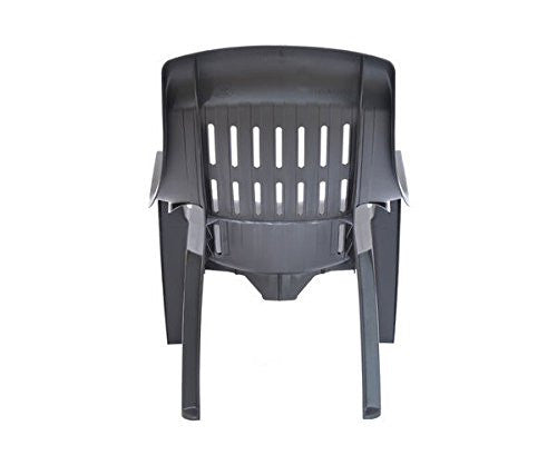Nilkamal Weekender Relax Chair (Black) - Set of 2 pcs - HOMEGENIC