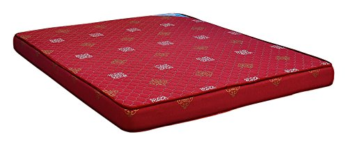 Nilkamal Sneham XL 5-inch Single Size Mattress (Maroon, 75x72x5) - HOMEGENIC