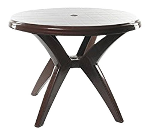 Cello Presto Four Seater Dining Table (Brown) - HOMEGENIC