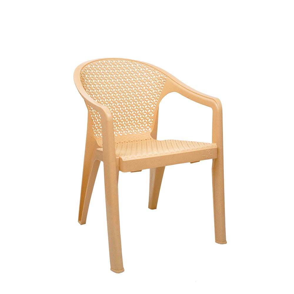Italica Oxy Arm Chair and Table- Set of 2 Chairs.