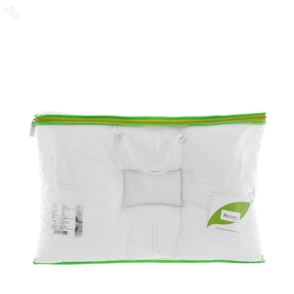 Recron Dr. Ortho Certified Pillow - White - HOMEGENIC