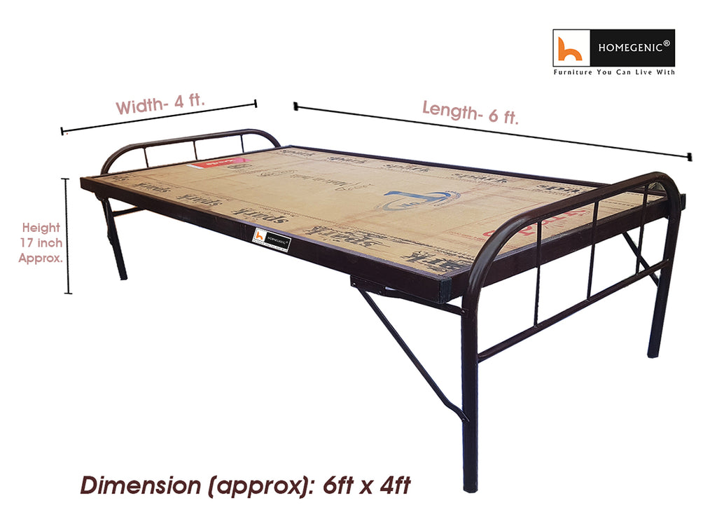 Homegenic Smart Folding Guest Bed with Plywood Top 6x4 (MAKE IN INDIA PROJECT-VOCAL FOR LOCAL) - HOMEGENIC