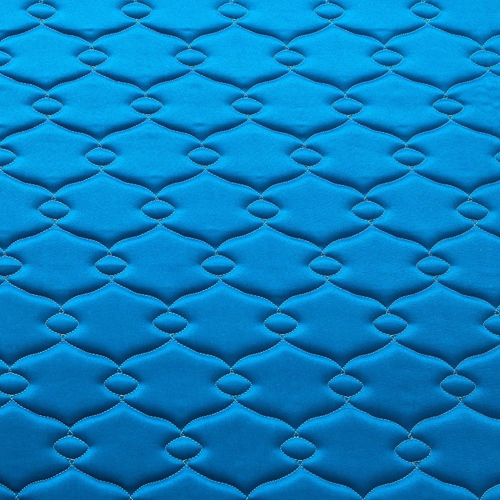 Nilkamal Cool Bond 5-inch Double Size Rubberised Coir Mattress (Blue, 75x72x5) - HOMEGENIC