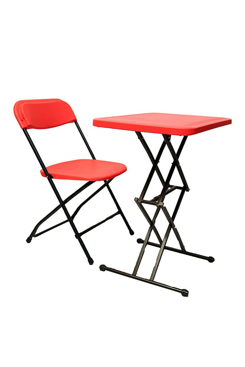 Supreme Scissor Table, Supreme Amity Chair