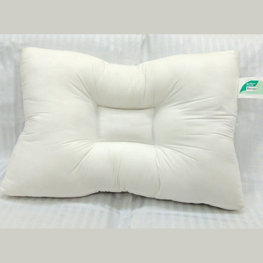 Recron Dr. Ortho Certified Pillow - White ( 4 Pieces) - HOMEGENIC