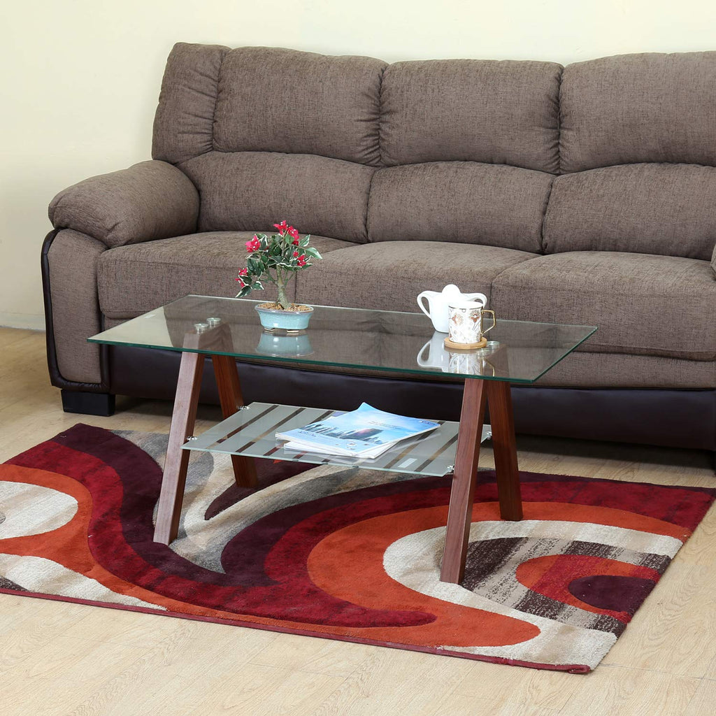 Nilkamal Tifton Center Table (Brown)