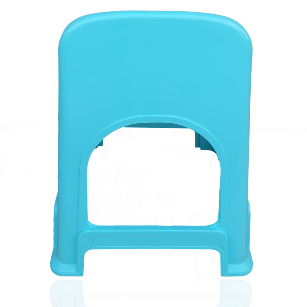 Homegenic TikTok Plastic Stool with Lower Back Support - HOMEGENIC